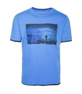 Compra ahora la Camiseta de manga corta para hombre Ternua Reven de color azul. Ref: 1206704-1982. Más en nuestro Ternua Outlet.