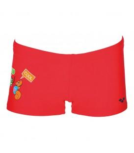 Bañador Arena AWT Kids Boy Short para niño de color azul, perfecto para que los más peques disfruten del agua. Disponible también para niñas. Ref: 000431-801