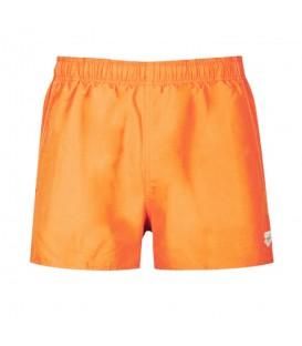 Bañador Arena Fundamentals X-Short 118-1B322-031para hombre en color naranja, bañador cómodo fabricado en tejido resistente al cloro, más colores disponibles.