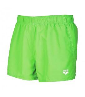 ¿Buscas un bañador para ir a la piscina o a la playa? Bañador Arena Fundamentals X-Short 118-1B322-063 para hombre en color verde con tejido resistente al cloro