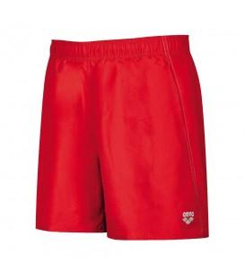 Bañador Arena Fundamentals Boxer 118-1B328041 para hombre en color rojo, bañador perfecto para la piscina gracias a su tejido resistente al cloro.