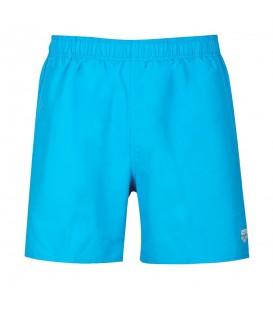 Bañador Arena Fundamentals Boxer 118-1B328081 para hombre en color azul turquesa, bañador de uso diario para la playa o la piscina, tejido resistente al cloro.