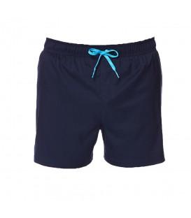 """Bañador Nike Solid Vital 4"""" NESS8430-489 para hombre en color azul marino, con cintura ajustable con cordón y calzoncillo interior de malla para más comodidad."""