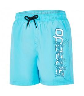 """Bañador Speedo Graphic Leisure 15"""" 8-090672052 para niños en color azul, bañador para la playa o la piscina con tejido que minimiza la absorción del agua."""