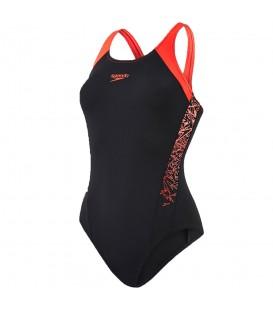 ¿Necesitas un bañador de natación? El Bañador Speedo Boom Splice Mucleback 8-10821B346 para mujer en color negro está disponible en chemasport.es a buen precio.