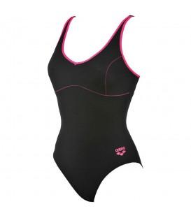 ¿Necesitas un bañador de natación para mujer? El Bañador arena Tania Clip Back 000911-509 en negro está diseñado con tejido MaxLife para un ajuste perfecto.