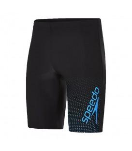 Bañador Speedo Gala Logo Jammer 8-113557669 para hombre en color negro de 44cm, bañador de gran resistencia al cloro y tejido de gran durabilidad Endurance10.