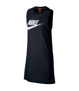 Vestido Nike Sportwear 883962-010 para mujer en color negro , vestido muy comodo de la marca Nike, encuéntralo en chemasport.es