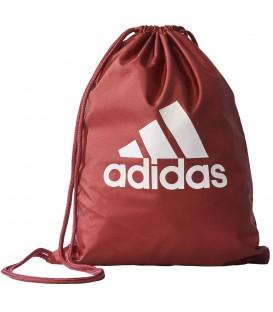 Saquito adidas Performance S99653 en color rojo, mochila tipo saco con un amplio compartimento principal, más modelos en chemasport.es
