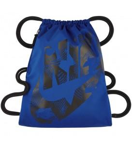 ¿Necesitas una mochila tipo saco? En chemasport.es encontrarás el Saquito Nike Heritage BA5351-452 en color azul al mejor precio, más colores disponibles.
