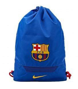 Saquito Nike FC Barcelona BA5289-480 en color azul con 2 compartimentos para una mejor organización. Compra el tuyo en chemasport.es al mejor precio.