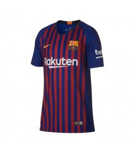 Camiseta del Barsa para niños Nike FC Barcelona 2018/19 Stadium Home Junior 894458-456 al mejor precio en tu tienda de deportes online chemasport.es