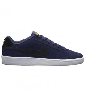 Zapatillas para hombre de ante Nike Court Royale Suede de color azul marino y negro al mejor precio en tu tienda de deportes online chemasport.es