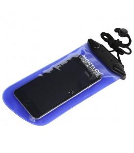 Protector Regatta Waterproof Phone Case RCE186-81V en color azul, funda protectora para el móvil, resistente al agua, perfecto para actividades al aire libre.