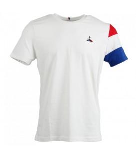 Camiseta Le Coq Sportif Nº5 1811449 para hombre en color blanco, camiseta de algodón básica, entra en chemasport.es y descubre camisetas de las mejores marcas.