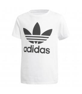Compra ahora la camiseta adidas Trefoil para niño en color blanco en www.chemasport.es. Envíos +50 euros gratuitos. Península, Baleares y Canarias.
