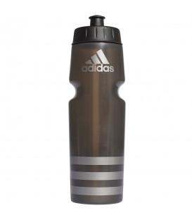 Bidón adidas 750ml Performance S96920 en color negro; bidón de agua ergonómico apto para la mayoría de los portabidones de las bicicletas.