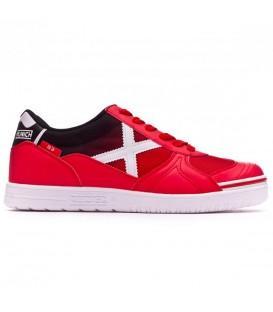 Zapatillas de fútbol sala para hombre Munich G-3 Indoor 878 3110878 de color rojo baratas y gastos de envío gratis en chemasport.es