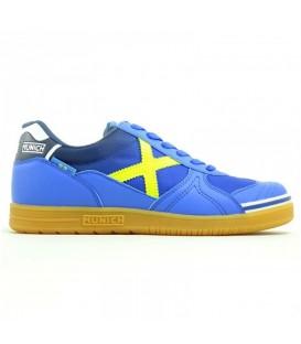 Zapatillas para hombre de fútbol sala Munich G-3 Indoor 876 de color azul al mejor precio en tu tienda de deportes online chemasport.es