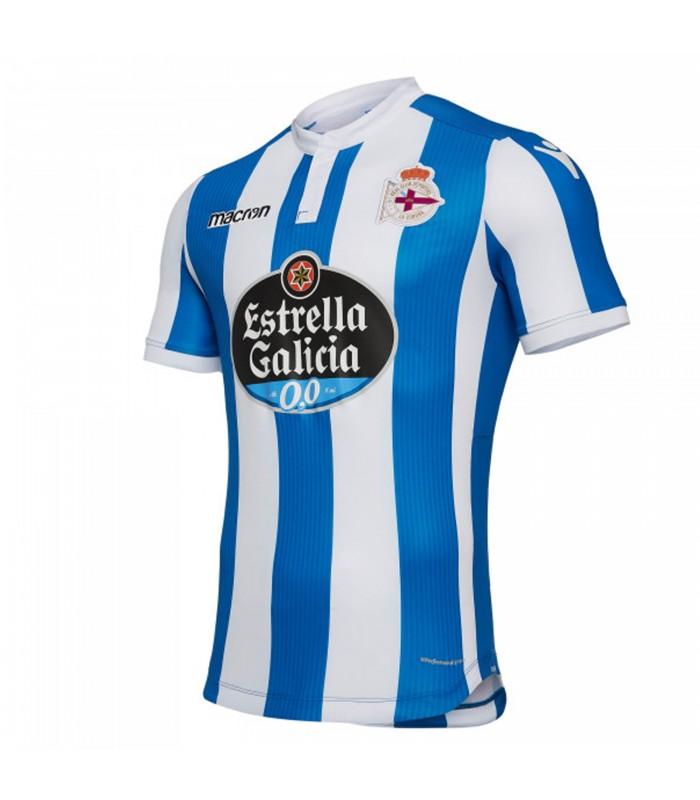 Jornada 13: RC Deportivo La Coruña - Sunderland AFC Camiseta-macron-primera-equipacion-rc-deportivo-20182019