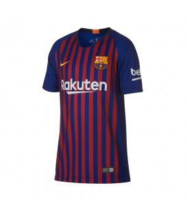 CAMISETA NIKE FC BARCELONA 2018/19 STADIUM HOME JUNIOR