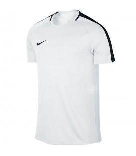 Camiseta Nike Dry Academy 832967-100 para hombre en color blanco , camisetas de fútbol con tejido Nike Dry, encuéntrala en chemasport.es