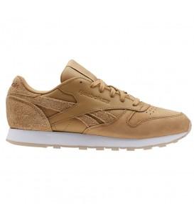 Zapatillas para mujer Reebok Classic Leather CN2696 de color marrón al mejor precio y gastos de envío gratis en tu tienda de sneakers en Pontevedra Chema SNKRS