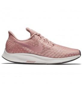 Zapatillas de running para mujer Nike Air Zoom Pegasus 35 WMNS 942855-603 de color rosa al mejor precio en chemasport.es