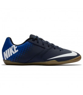 Zapatillas de futbol sala Nike Bombax IC 826485-414 de color azul al mejor precio y gastos de envío gratis en chemasport.es