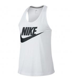 Camiseta Nike Sportwear Essential 831731-100 para mujer en color blanco, envíos en 24/48 horas a península.