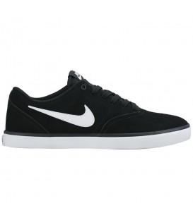 Zapatillas unisex para hombre y mujer Nike SB Check Solarsoft 843895-001 negro al mejor precio en chemasport.es