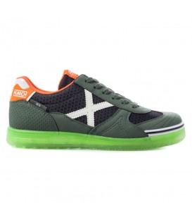 Zapatillas de fútbol sala para niños con cordones Munich G3 Kid Glow 1510892 verde al mejor precio y gastos de envío gratis en chemasport.es