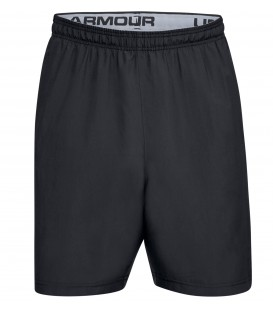 Pantalón corto para hombre Under Armour Woven Graphic Wordmark 1320203-001 de color negro, realizamos envíos en 24/48 horas!