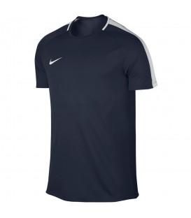 Camiseta Nike Dry Academy 832967-451 para hombre en color azul marino, camiseta de fútbol con tejido Nike Dry que capilariza el sudor, disponible en más colores