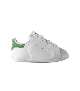 Patucos adidas Stan Smith B24101 para bebé de color blanco y verde, otros patucos disponibles en chemasport.es