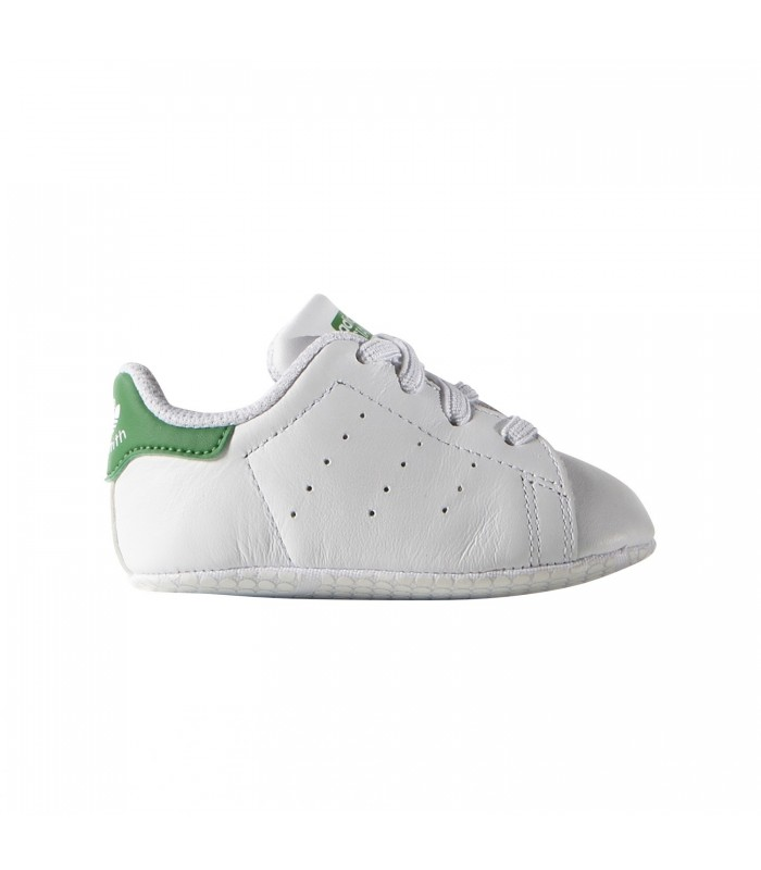 Patucos adidas Stan Smith y para bebé de color blanco y Smith verde cc1219