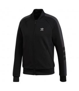 Chaqueta adidas Track Top DH4194 para mujer en color negro, chaqueta estilo bomber inspirada en los 90, no te quedes sin la tuya!