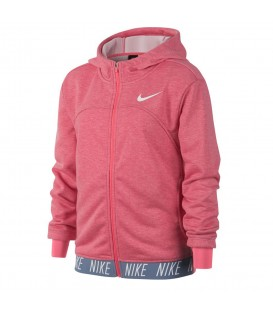 Chaqueta con capucha Nike Dry 939533-614 para niños en color rosa, más chaquetas para el frío en chemasport.es