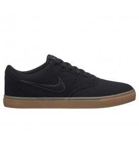 Zapatillas para hombre y mujer Nike SB Check solarsoft 843896-009 de color negro al mejor precio en chemasport.es
