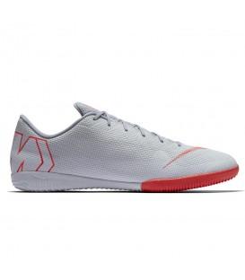 Zapatillas de fútbol sala para hombre Nike Mercurial X Vapor XII Academy IC AH7383-060 de color gris al mejor precio en chemasport.es