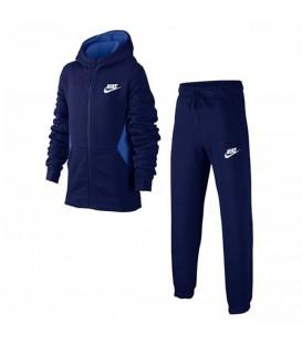 Chándal Nike BF Core 939626-478 para niños en color azul marino, chándal para la vuelta al cole en chemasport.es