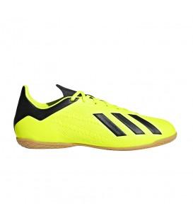 Zapatillas de fútbol sala para hombre adidas X Tango 18.4 In DB2484 de color amarillo al mejor precio y gastos de envío gratis en chemasport.es
