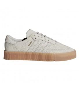 Zapatillas para mujer adidas Sambarose W B28163 de color beige. Otros modelos de adidas originals al mejor precio en chemasport.es