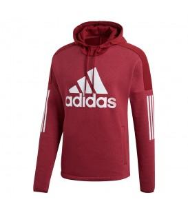 Sudadera con capucha adidas Sport ID Logo DM3675 para hombre en color granate, ropa deportiva adidas en chemasport.es