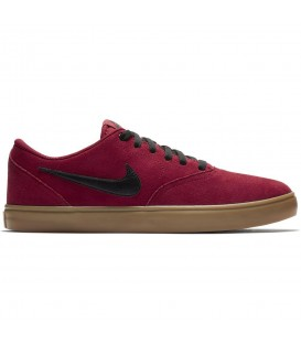 Zapatillas Nike SB Check Solarsoft 69189 en color rojo para skateboarding en Chema Sport envíos en 24/48 horas