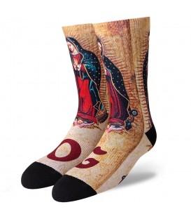 Calcetines Raw Sox Virgen de Guadalupe RS-00139, calcetines de moda al mejor precio en Chema Sneakers o en chemasport.es