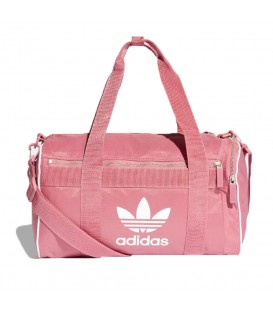 Bolsa adidas Duffle M DH4323 de color rosa para el gimnasio al mejor precio en tu tienda de deportes online chemasport.es