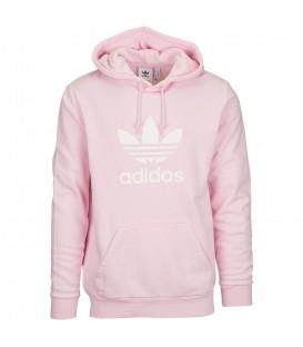 Sudadera para hombre adidas Trefoil de color rosa al mejor precio en tu tienda de moda en Pontevedra Chema Sport.