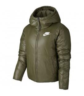 Chaqueta de abrigo para mujer Nike SYN Fill de color verde al mejor precio en tu tienda de deportes online chemasport.es