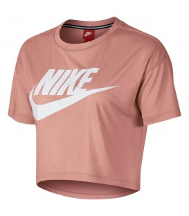 Top Nike Sportwear Essential AA3144-685 para mujer en color rosa